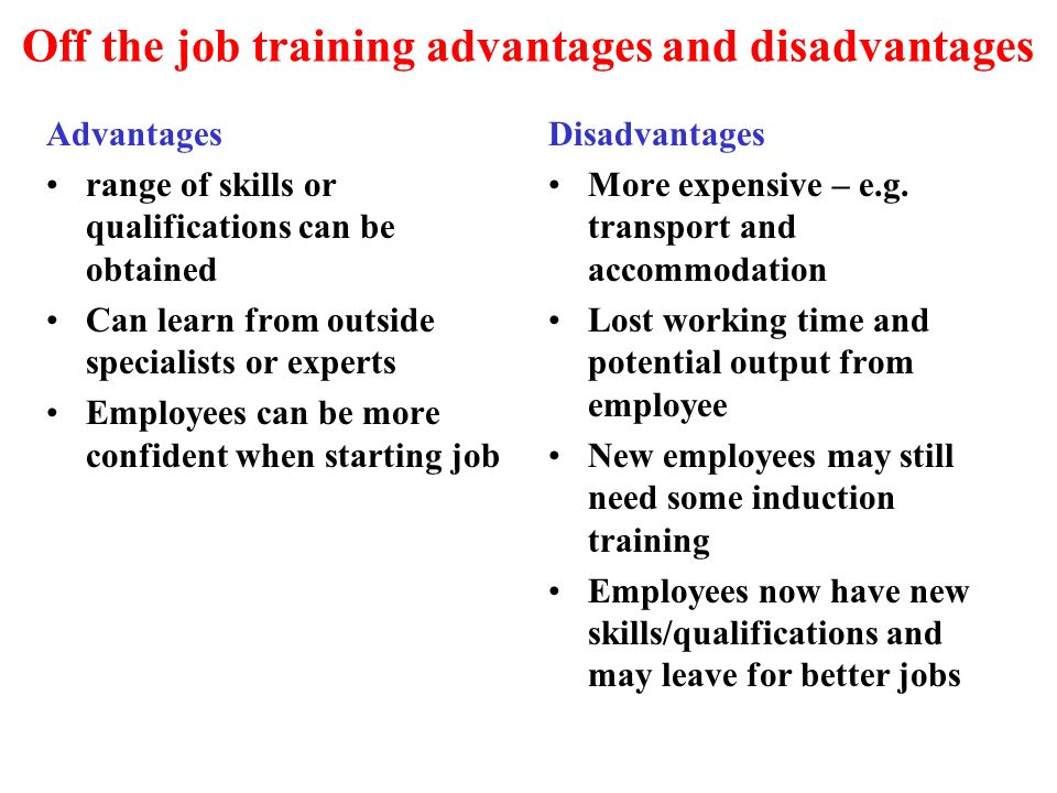 Training & Development comparison - ppt video online download