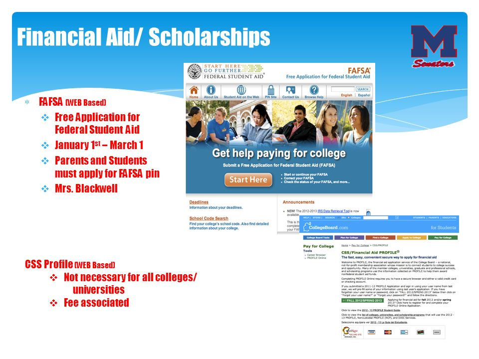 Financial Aid/ Scholarships