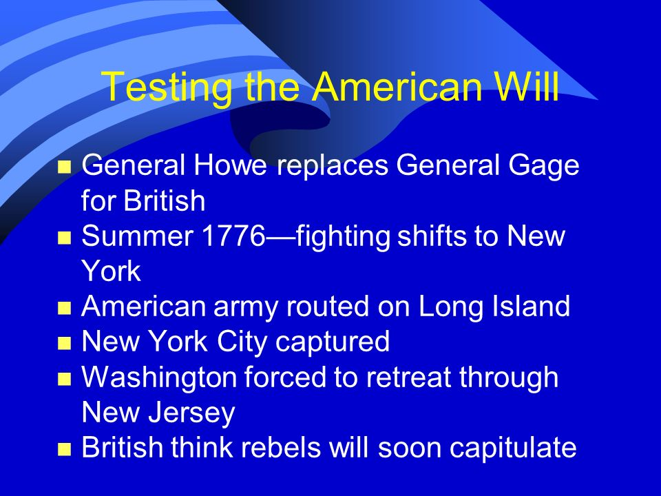 Testing the American Will