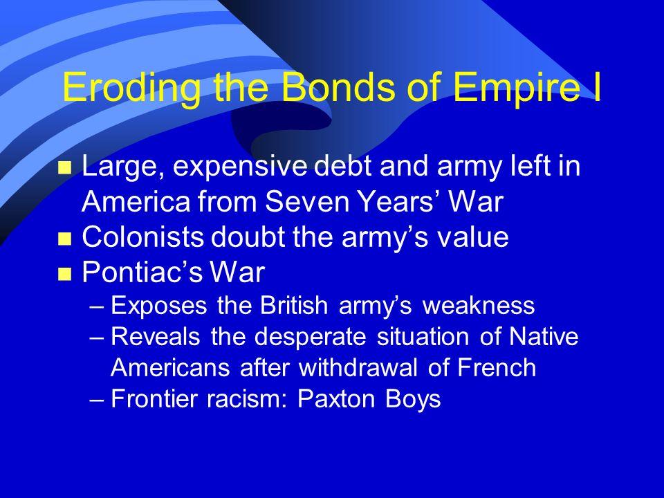Eroding the Bonds of Empire I