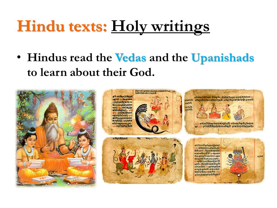 Hindu texts: Holy writings