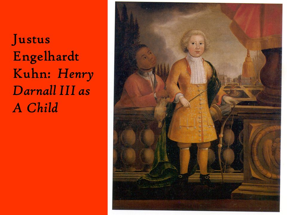 Justus Engelhardt Kuhn: Henry Darnall III as A Child
