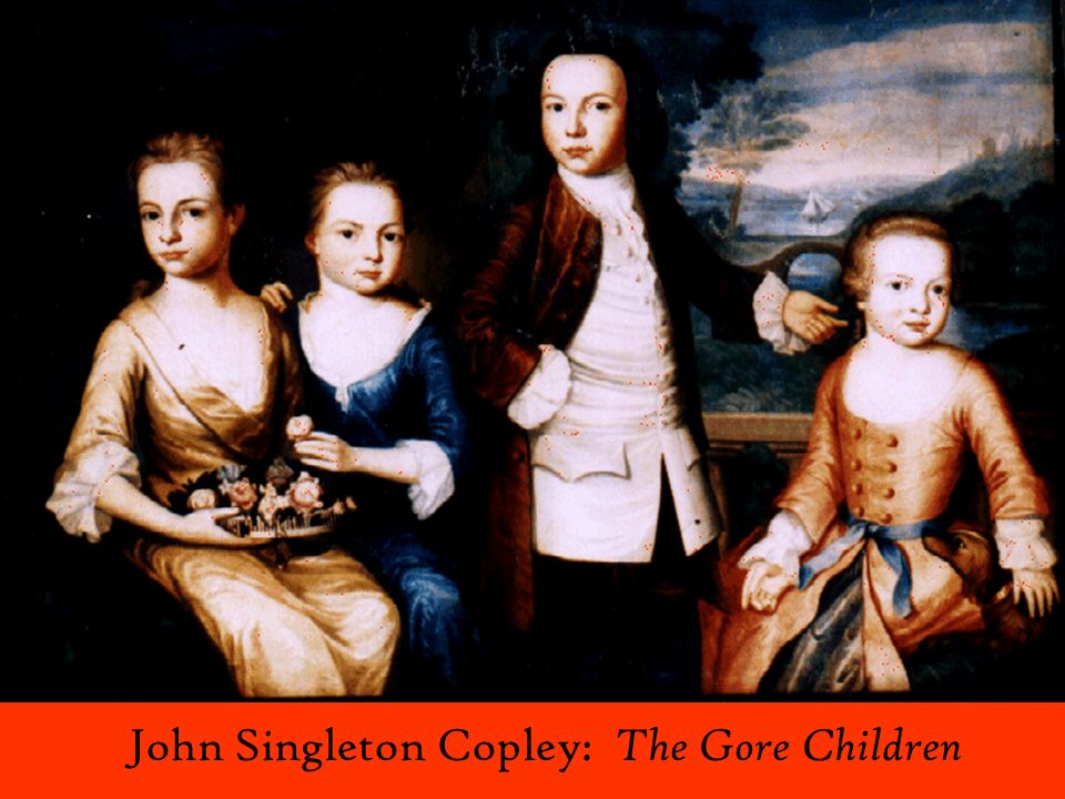 John Singleton Copley: The Gore Children