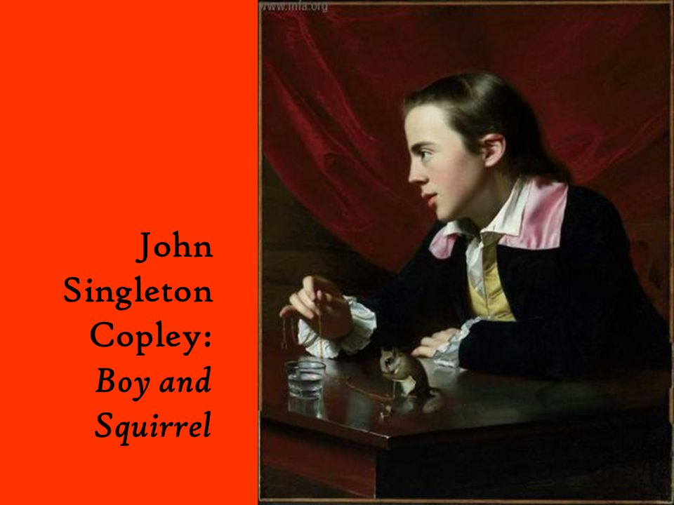 John Singleton Copley: Boy and Squirrel