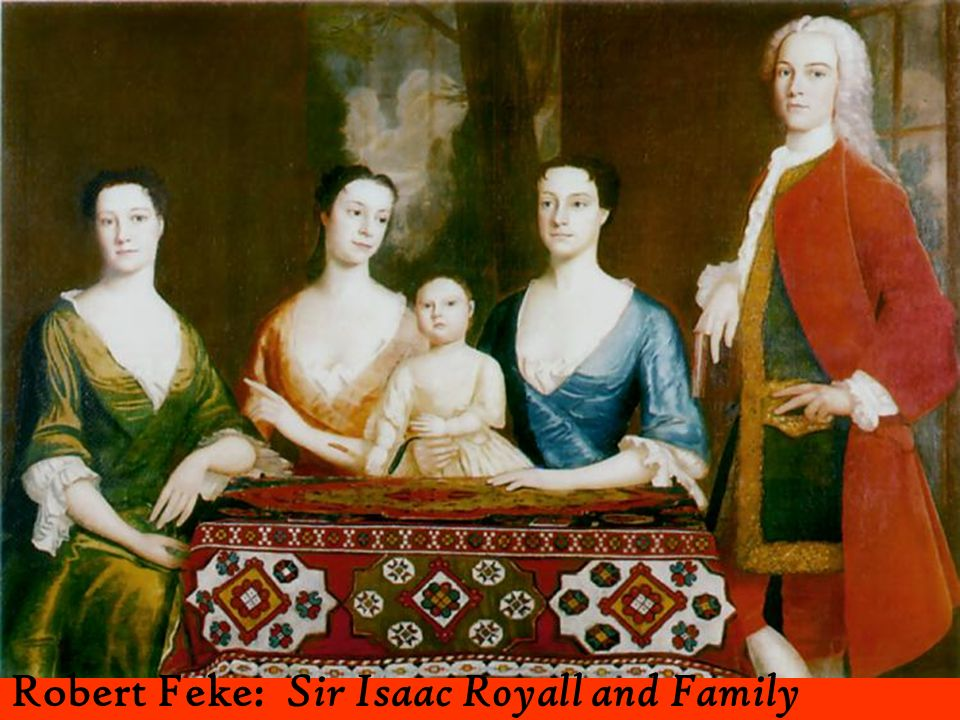 Robert Feke: Sir Isaac Royall and Family