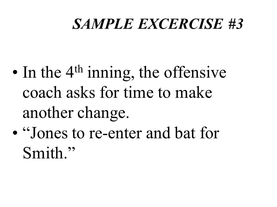 Jones to re-enter and bat for Smith.