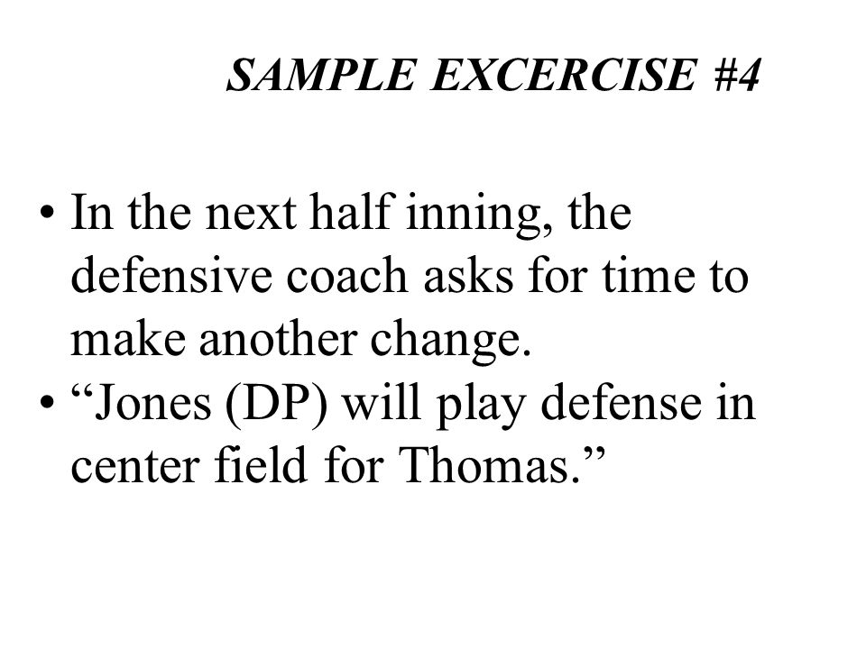 Jones (DP) will play defense in center field for Thomas.