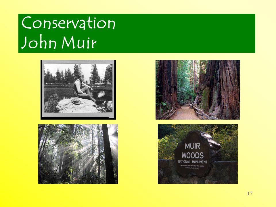 Conservation John Muir