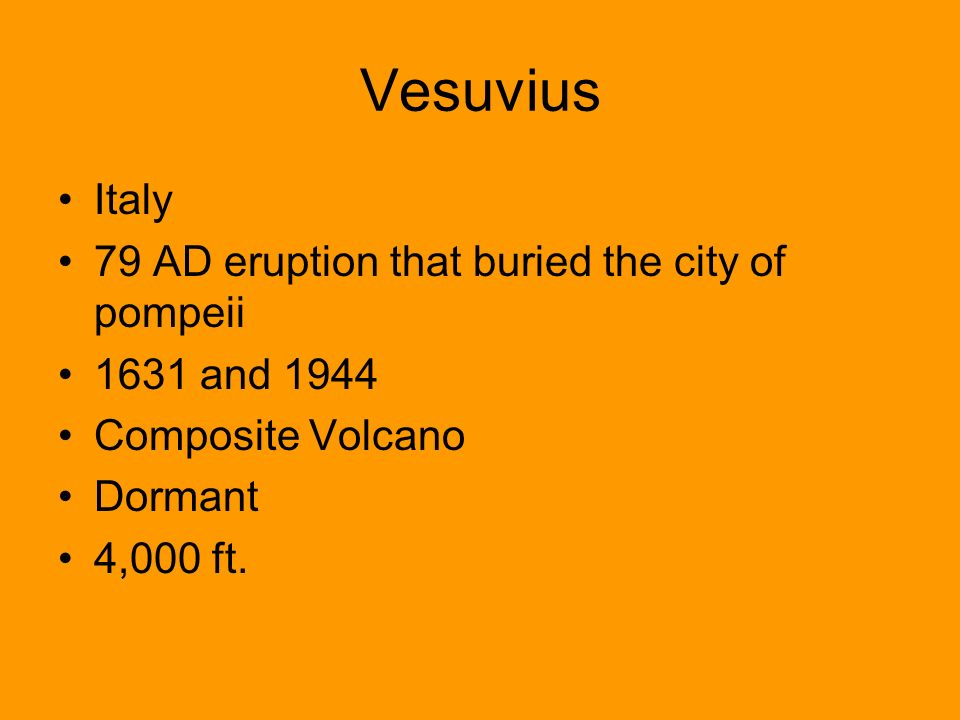 Vesuvius Italy 79 AD eruption that buried the city of pompeii