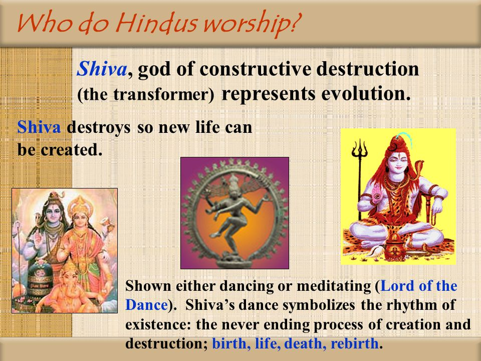 vishnu in the hindy myth of the creation death and rebirth of the universe Some hindu symbols,  om is used to symbolizing the universe and the ultimate  this plant is representative of creation and is used to symbolize vishnu,.