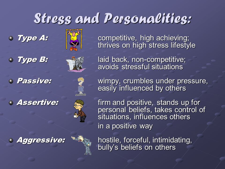 Stress and Personalities: