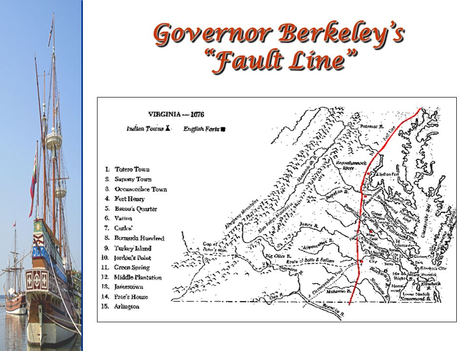Governor Berkeley's Fault Line