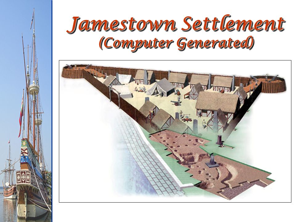 Jamestown Settlement (Computer Generated)