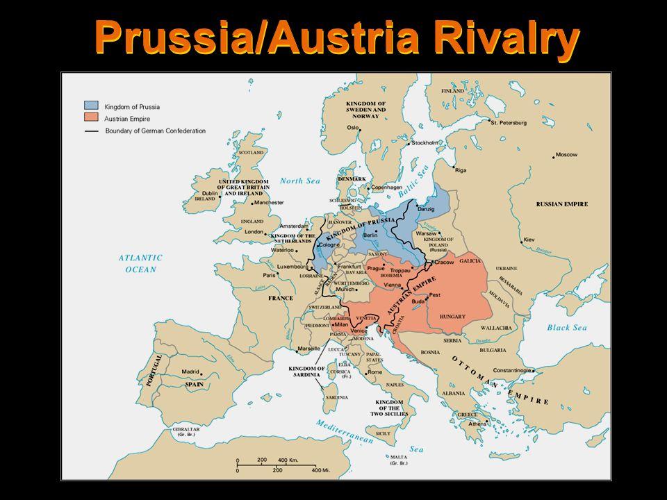 Prussia/Austria Rivalry
