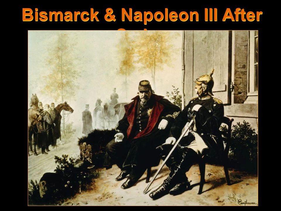 Bismarck & Napoleon III After Sedan