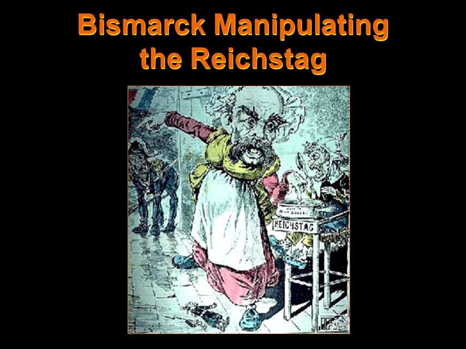 Bismarck Manipulating the Reichstag