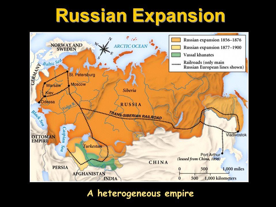 A heterogeneous empire