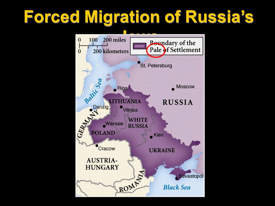 Forced Migration of Russia's Jews