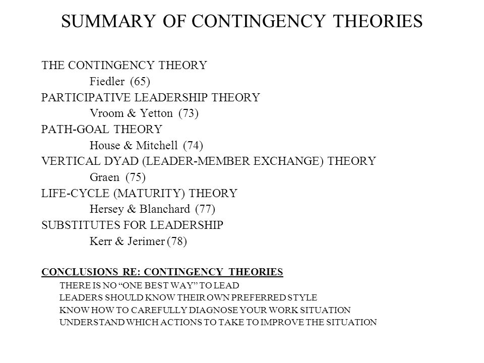 usefulness of classical management theory in Get a brief overview of contemporary theories in management in this topic from the free management library.