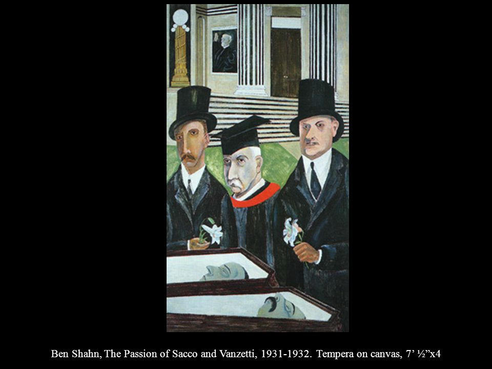 Ben Shahn, The Passion of Sacco and Vanzetti, 1931-1932