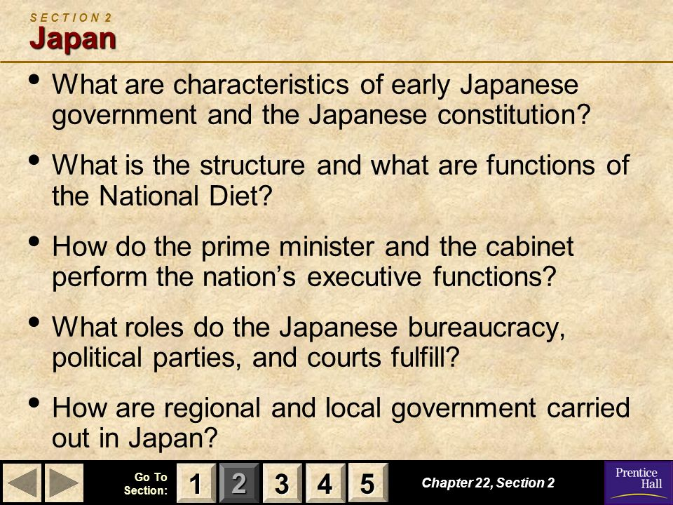 What is the structure and what are functions of the National Diet