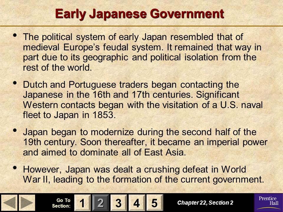Early Japanese Government