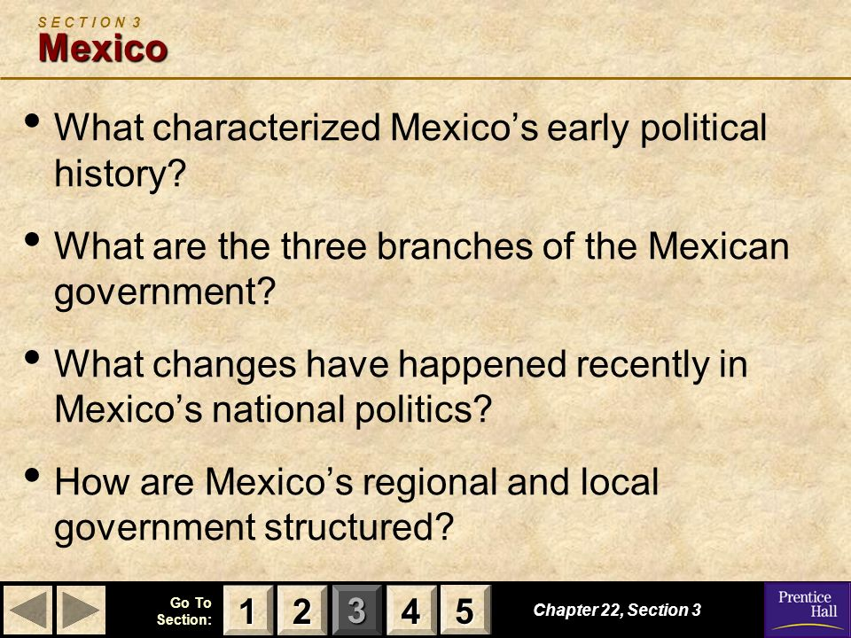 What characterized Mexico's early political history