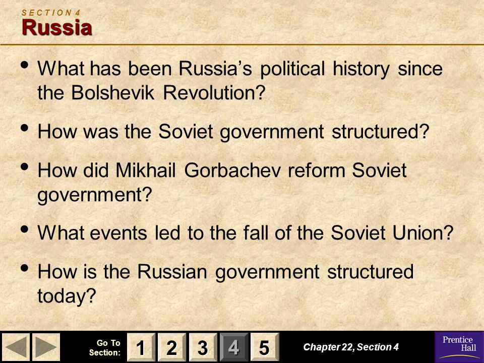 How was the Soviet government structured