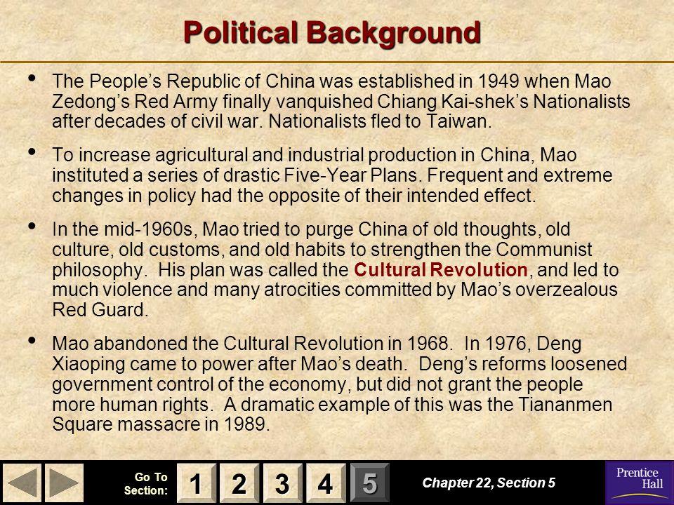 Political Background