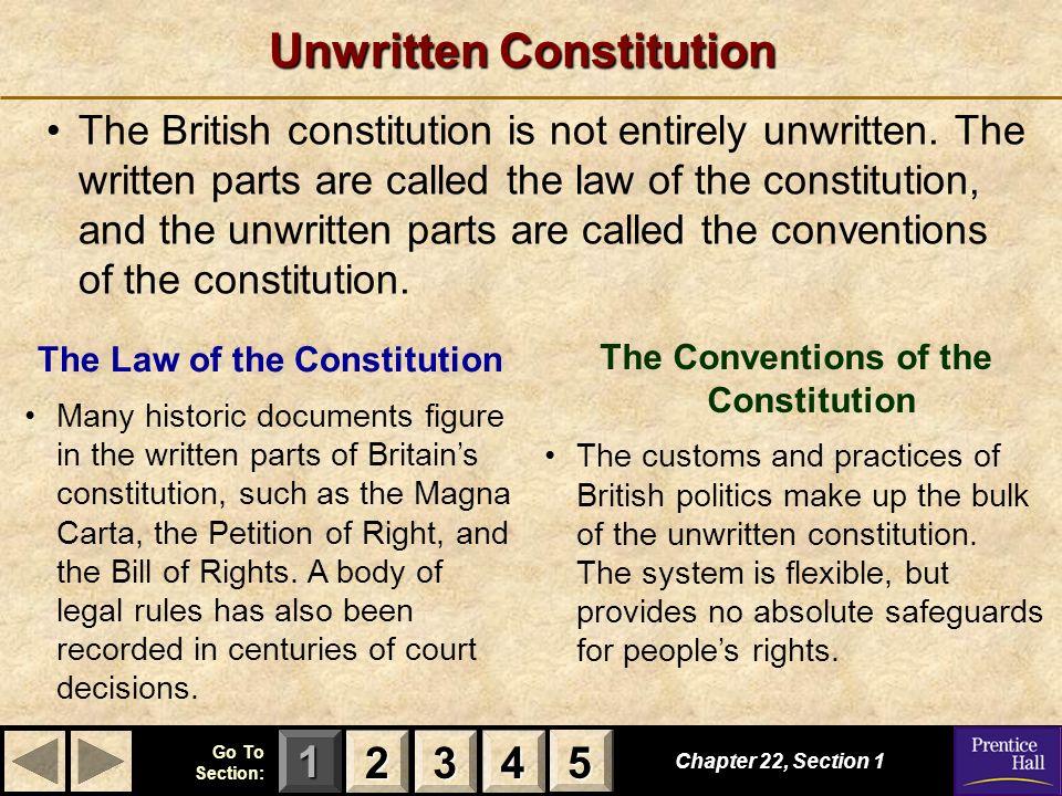 Unwritten Constitution