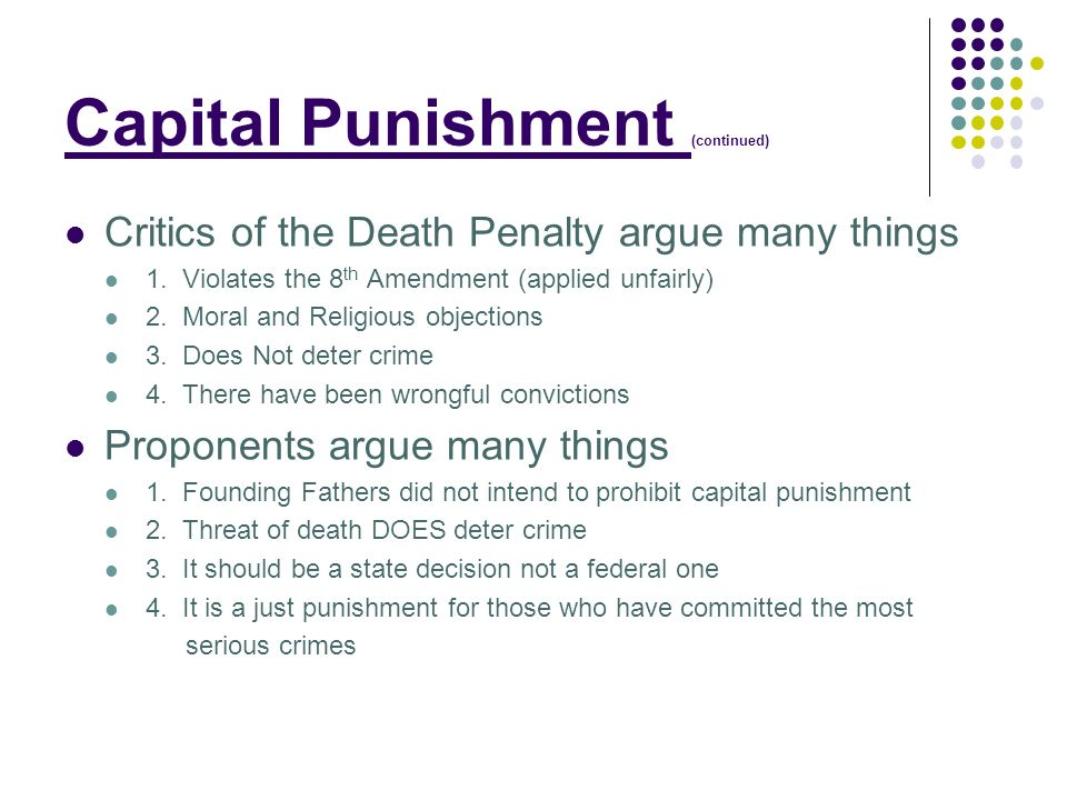 death penalty and crime rates essay Deterring crime and the death penalty 6 pages 1530 words december 2014 saved essays save your essays here so you can locate them quickly.