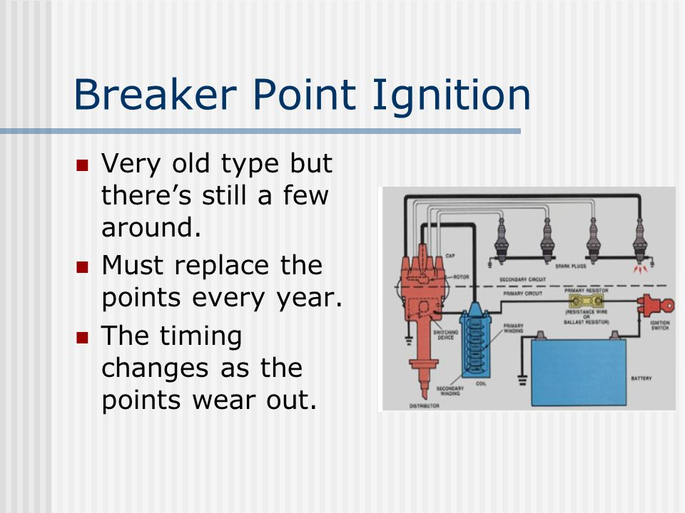 Breaker Point Ignition