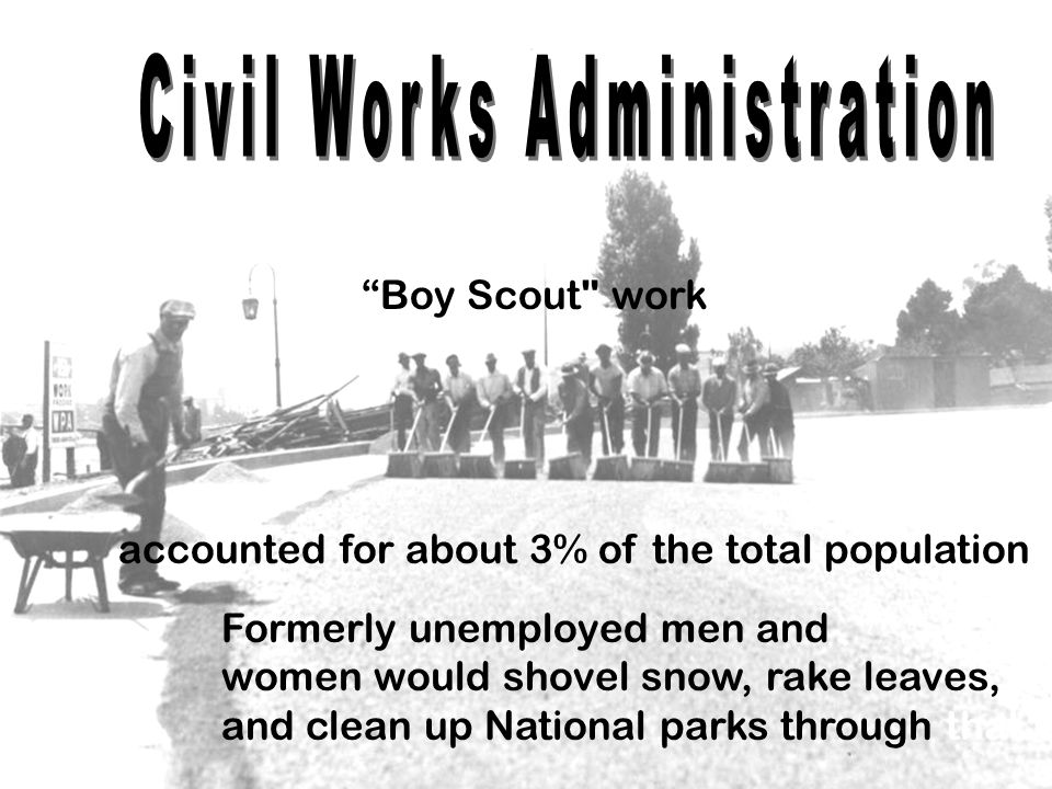 Civil Works Administration