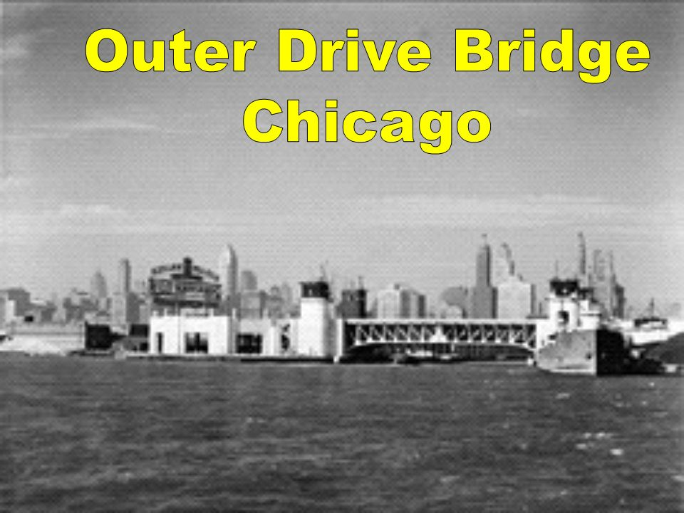 Outer Drive Bridge Chicago