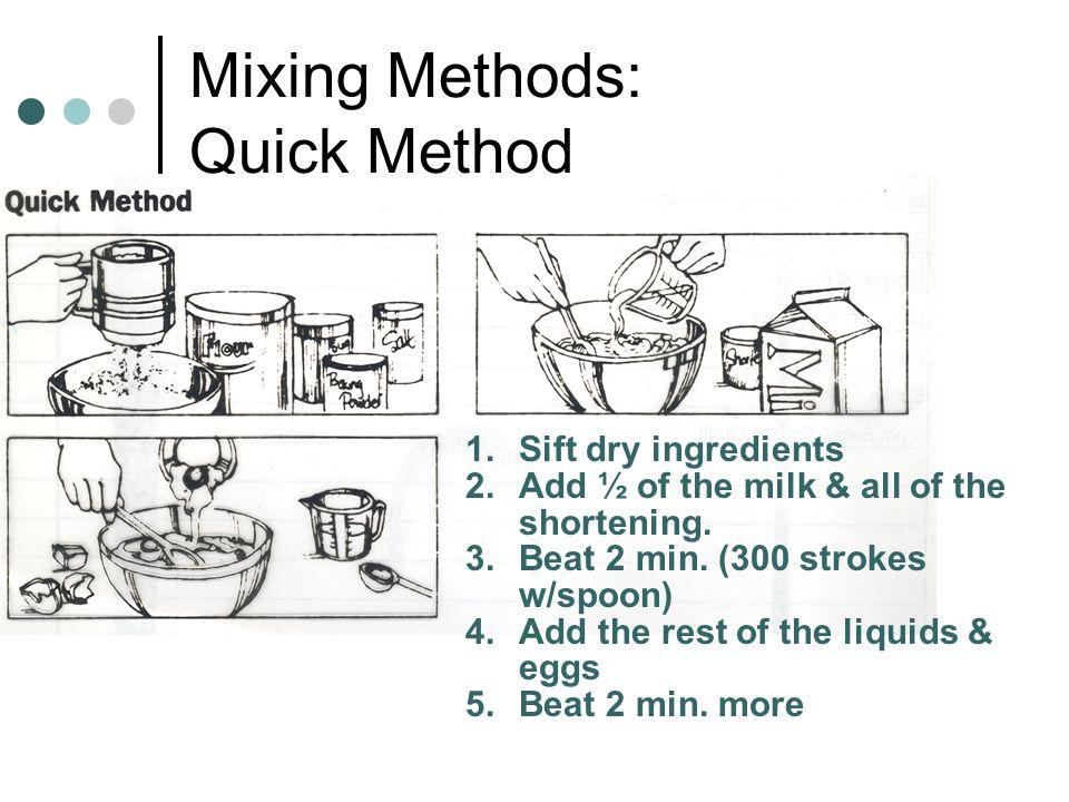 Mixing Methods: Quick Method