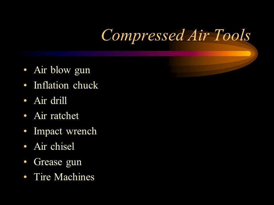 Compressed Air Tools Air blow gun Inflation chuck Air drill