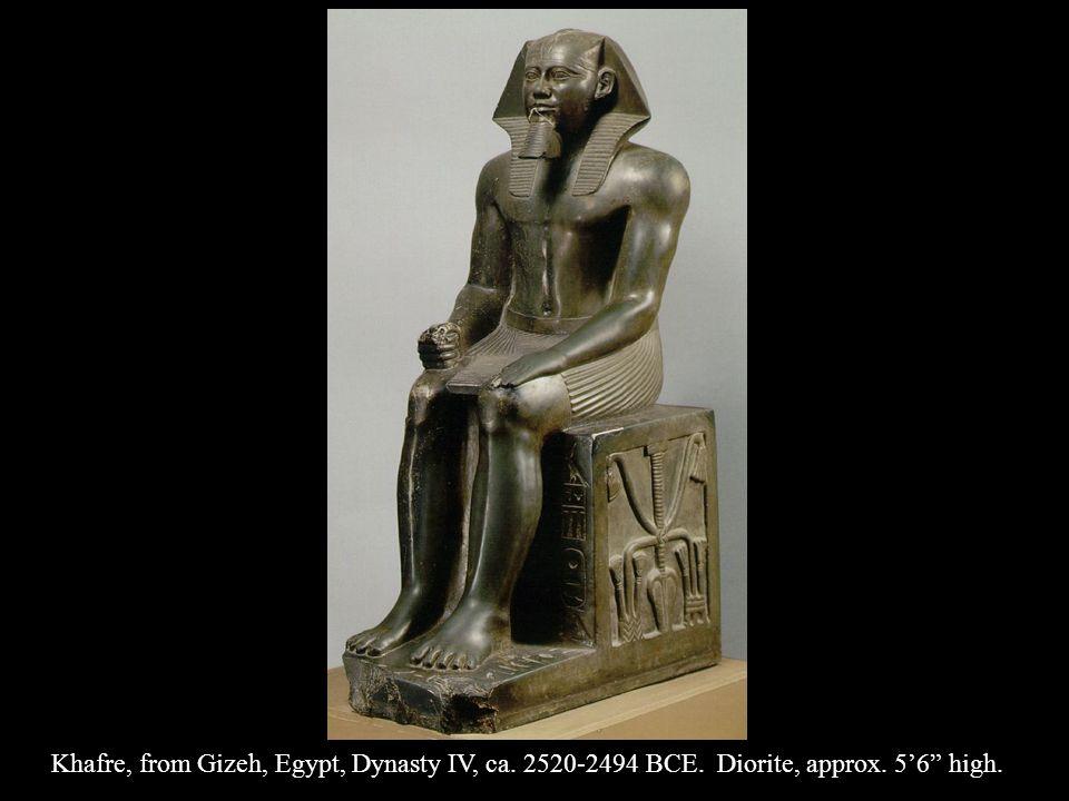Khafre, from Gizeh, Egypt, Dynasty IV, ca. 2520-2494 BCE