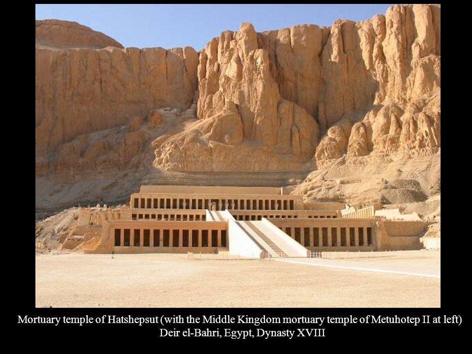 Deir el-Bahri, Egypt, Dynasty XVIII