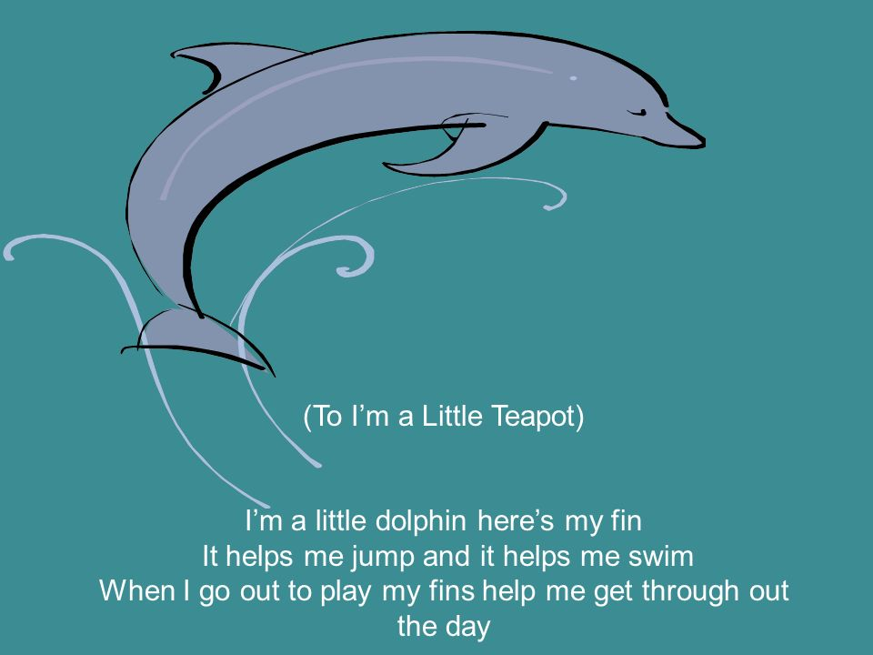 (To I'm a Little Teapot)