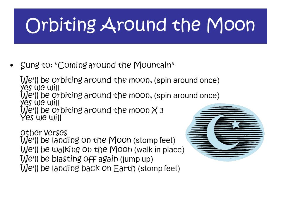 Orbiting Around the Moon