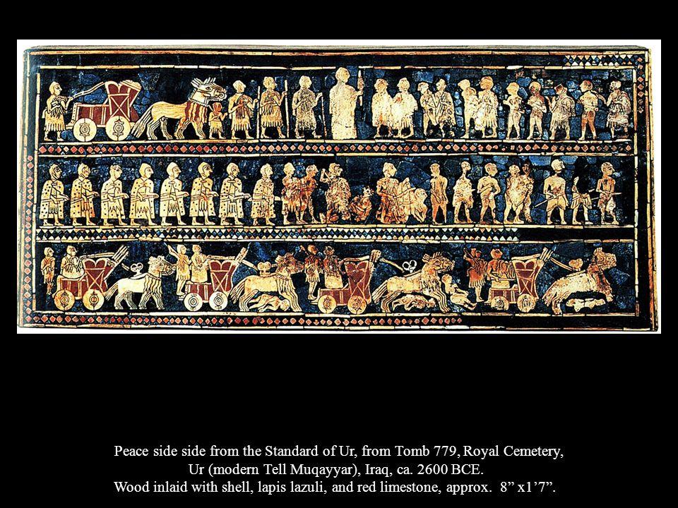 Ur (modern Tell Muqayyar), Iraq, ca. 2600 BCE.