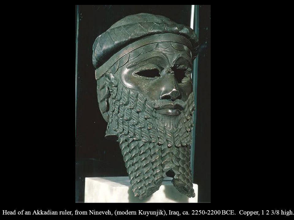 Head of an Akkadian ruler, from Nineveh, (modern Kuyunjik), Iraq, ca