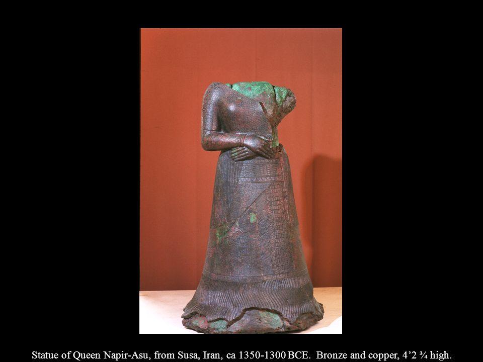 Statue of Queen Napir-Asu, from Susa, Iran, ca 1350-1300 BCE
