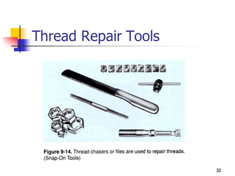 Thread Repair Tools
