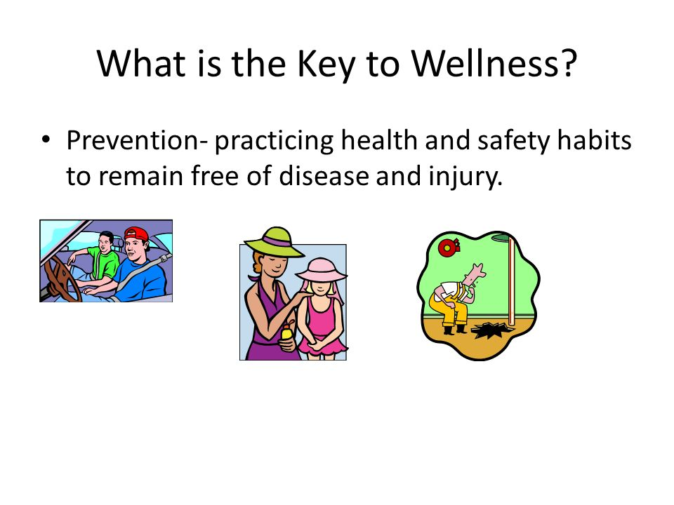 What is the Key to Wellness