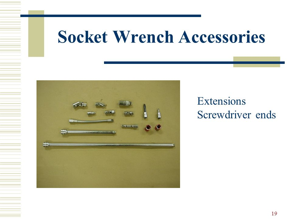 Socket Wrench Accessories