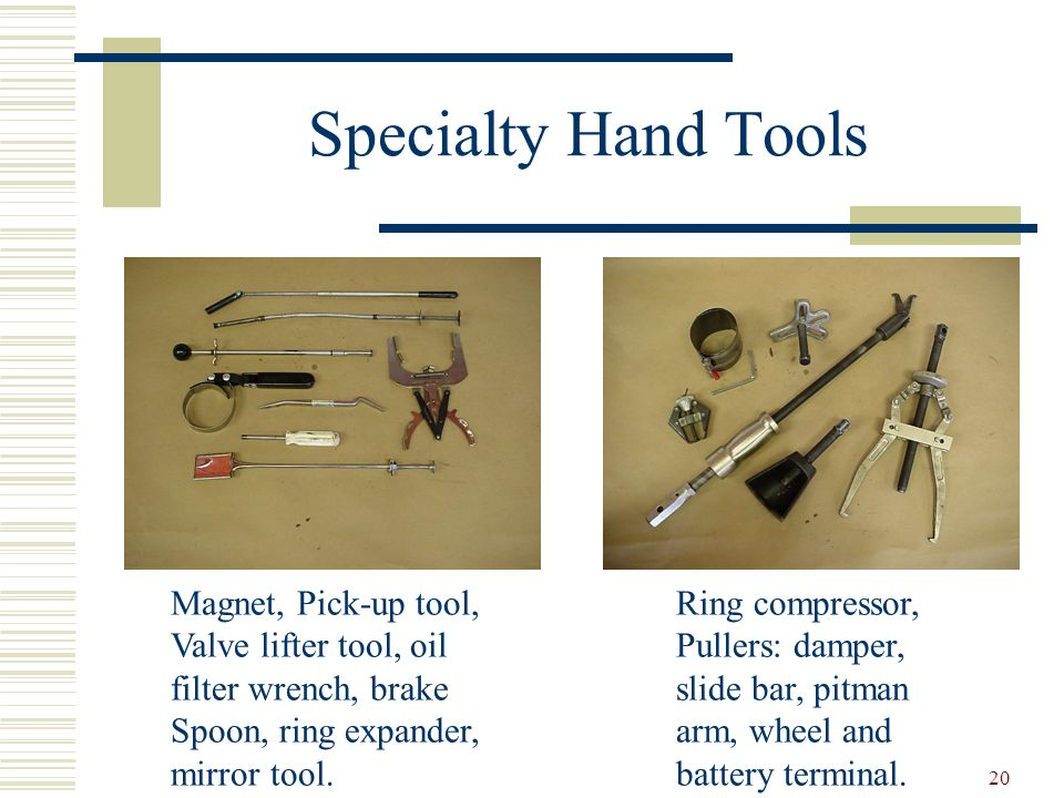 Specialty Hand Tools Magnet, Pick-up tool, Valve lifter tool, oil