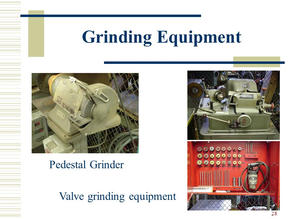Grinding Equipment Pedestal Grinder Valve grinding equipment