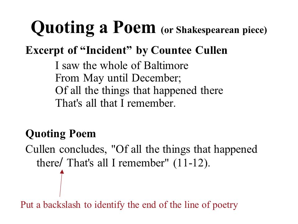 countee cullen poems