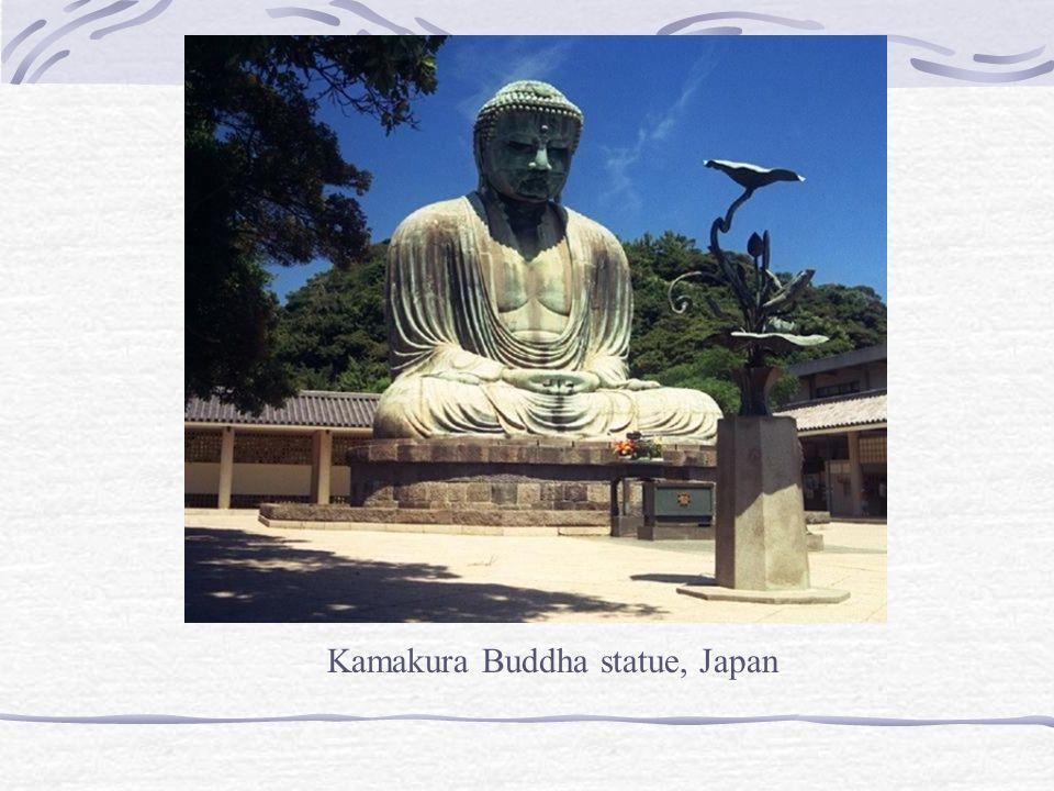 Kamakura Buddha statue, Japan